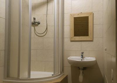 sprcha na pokoji